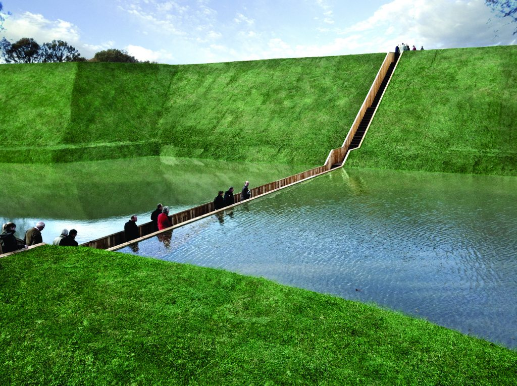 Accoya wood Moses Bridge Netherlands